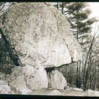North Saugus, Stillings Property, Indian Rock off Walnut Street