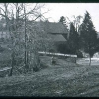 North Saugus, Water Street, Howlett Mill about 1895, Alice Honer's girl