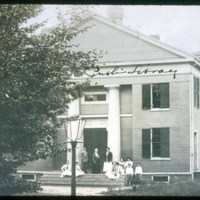 Old Town Hall, Later School & Library, campfire girls now