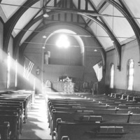 Interior of the Congregational Church, Swampscott, Mass.