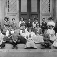 Swampscott High School class picture, c. 1910