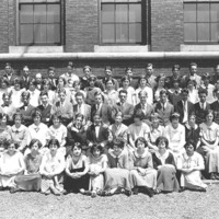 Swampscott High School Class Picture, 1924