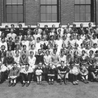Swampscott High School class picture, 1929