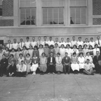 Hadley Junior High School class picture