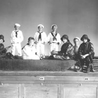 Stanley School theater production (sea), 1930