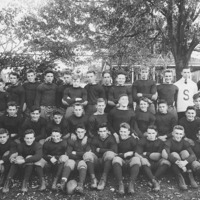 Swampscott High School football team, c. 1914