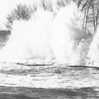Surf crashing at Woodbury's Point;#2