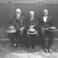 Portrait of Perley Kendrick, Abe Stone, and George Harris