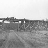 Paradise Road railroad trestle