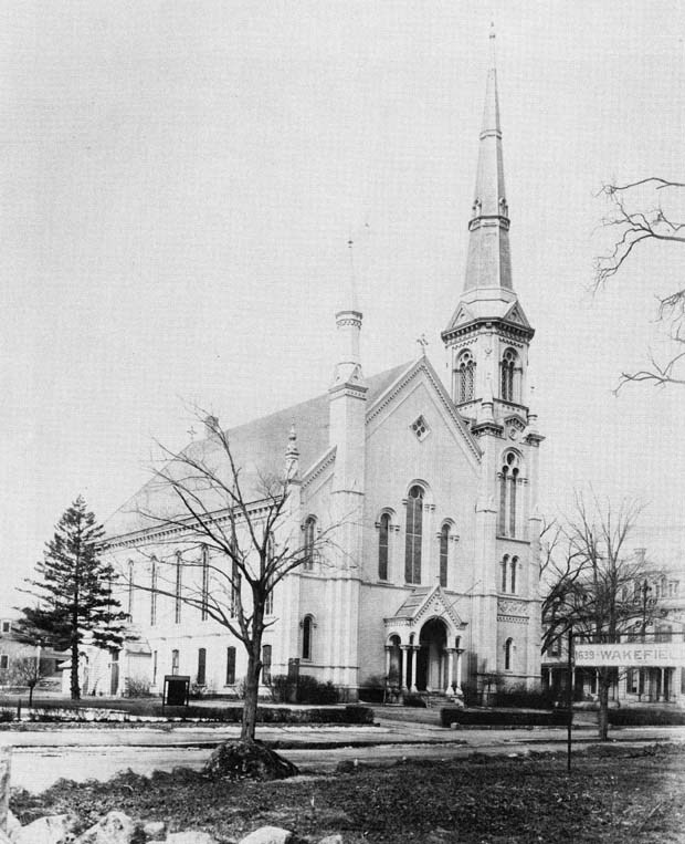 First Baptist Church, circa 1918