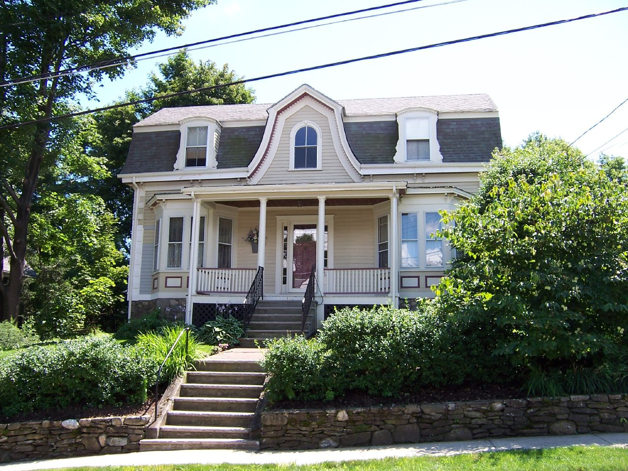 House at 34 lawrence street wakefield mass noble for Wakefield house