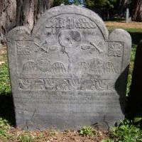 Thomas Kendel [i. e.  Kendall] headstone, Old Burying Ground, Wakefield, Mass.