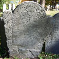 Elizabeth Browne headstone, Old Burying Ground, Wakefield, Mass.