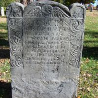 Thomas Parker headstone, Old Burying Ground, Wakefield, Mass.