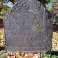 William Green headstone, Old Burying Ground, Wakefield, Mass.