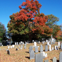 Old Burying Ground, Wakefield, Mass. , in autumn