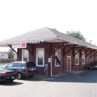 Central train depot at 57 Water Street, Wakefield, Mass.