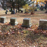 Beebe family plot, Lakeside Cemetery, Wakefield, Mass.