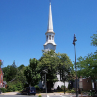 Unitarian Universalist Church at 326 Main Street, Wakefield, Mass.