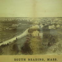 South Reading, Mass., from Hart's Hill, 1866