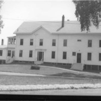 Wakefield town farm building, July 5, 1947