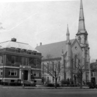 YMCA, Baptist church, Lafayette bldg., April 1930