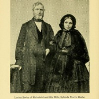 Lucius Beebe of Wakefield and Sylenda Morris Beebe, his wife, their forbears and descendants