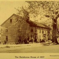 The Hartshorne House of ancient Redding in the Massachusetts Bay Colony