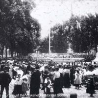 Dedication of Soldiers' and Sailors' Monument, Wakefield Common, June 17, 1902