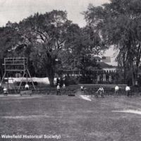 Wakefield Common, Old Home Week pageant, 1934