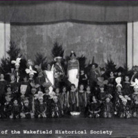 Wakefield Mothers' Club operetta, October 1930