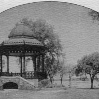 [Band stand on Wakefield Common]