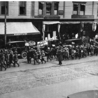 Boys' Loyalty Day Parade, Wakefield High School Cadets and Franklin School, May 1, 1924