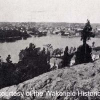 Crystal Lake from Harts Hill,1913