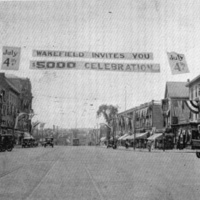 Downtown Wakefield, July 4, 1922