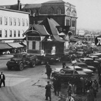 Downtown Wakefield, spring, 1959
