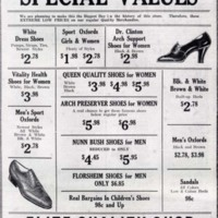 Elite Quality Shop, 1933