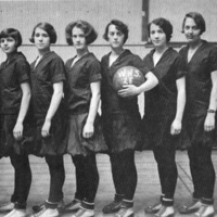 Girls basketball team, 1928