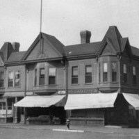 Gould/Walton Block, Main and Centre Streets, circa late 1930's