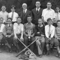 Greenwood School, grammar school baseball champions, circa early 1930s