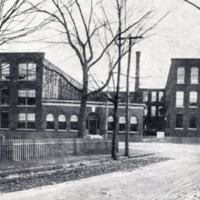 Harvard Knitting Mills, Albion and Foundry Streets, looking from Murray Street, circa 1911