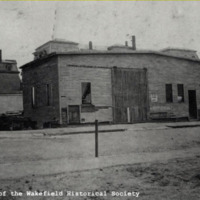 Hathaway Stable, Mechanic (Princess) Street, April, 1925
