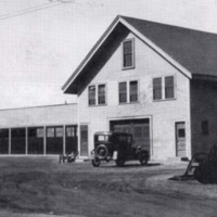 Highway Department garage, North Avenue, 1930