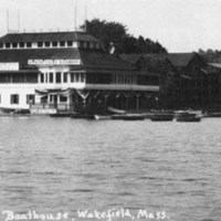 Hill's Boathouse, circa 1930's
