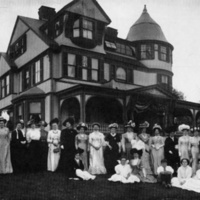 Ladies' Day at the Wakefield Elks Home, circa 1915