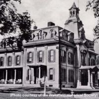 Lafayette Building, Wakefield High School, 1907