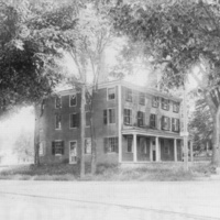 Lilley Eaton home, corner of Main and Salem Streets, circa 1912