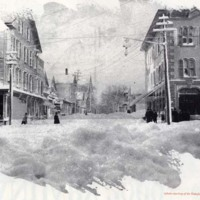 Looking up to Albion Street, February 1, 1898