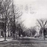 Main Street and Rockery, circa 1909
