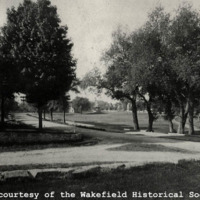Main Street at Lawrence Street, circa 1890